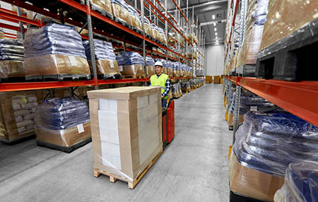 develop warehouse and logistic process