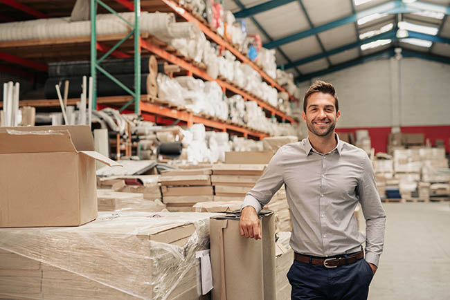 safe and secure warehousing company
